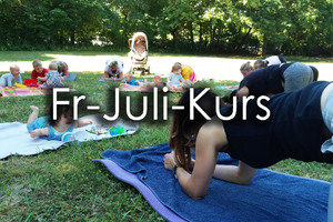 Kurs Freitag-Outdoor Fitness - Juli 21