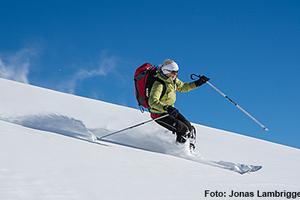 Genussvolle leichte Tages-Skitour im Simmental-Wannehörli