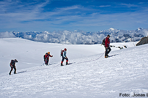 Breithorn 4164m - genussvoll leichten Viertausender besteigen