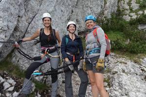 Basic Instinct Klettersteig Hochlantsch