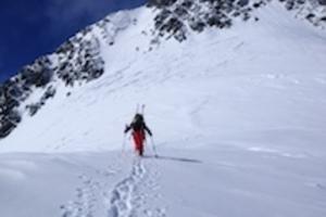 Mont Blanc Besteigung mit Ski