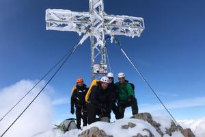 Dachstein mit Ski