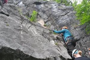 Klettersteig Katrin : Katrin klettersteig u trailbirdie