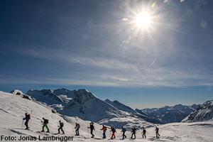 Ski- und Snowboardtourenlager für Jugendliche