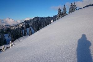 Genussvolle leichte Tages-Skitour in der Zentralschweiz - Rickhubel