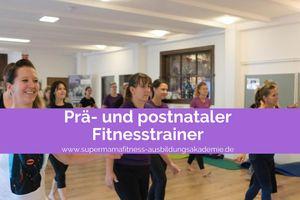 Prä- und postnaler Fitnesstrainer