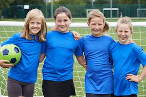 Fussball für Mädchen