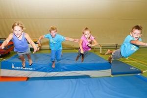 Geräteturnen-Akrobatik