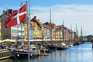 Dänische Südsee Kiel - København