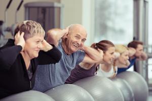 Rückenfit für Senioren