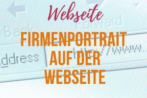 Logo und Verlinkung auf der Webseite