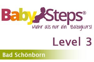 BabySteps - Level 3 - Bad Schönborn - 9 bis 12 Monate