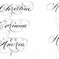 Kalligrafie Grundkurs Englische Schreibschrift