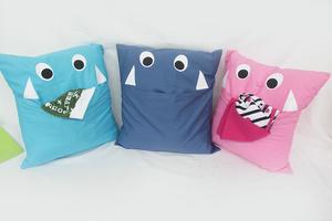 Kindernähkurs Monster-Kleidersack-Kissen ZUSATZTERMIN