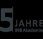 Logo IHB Akademie 5 Jahre