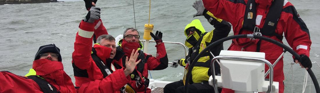 Channel-Crossing und Training im Ijsselmeer