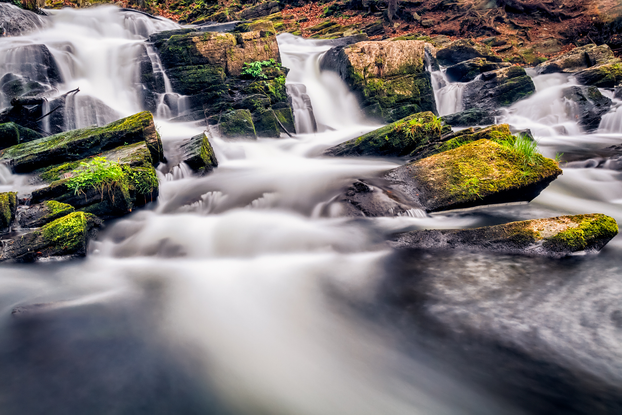 Foto Workshop Langzeitbelichtung am Selkewasserfall / Harz