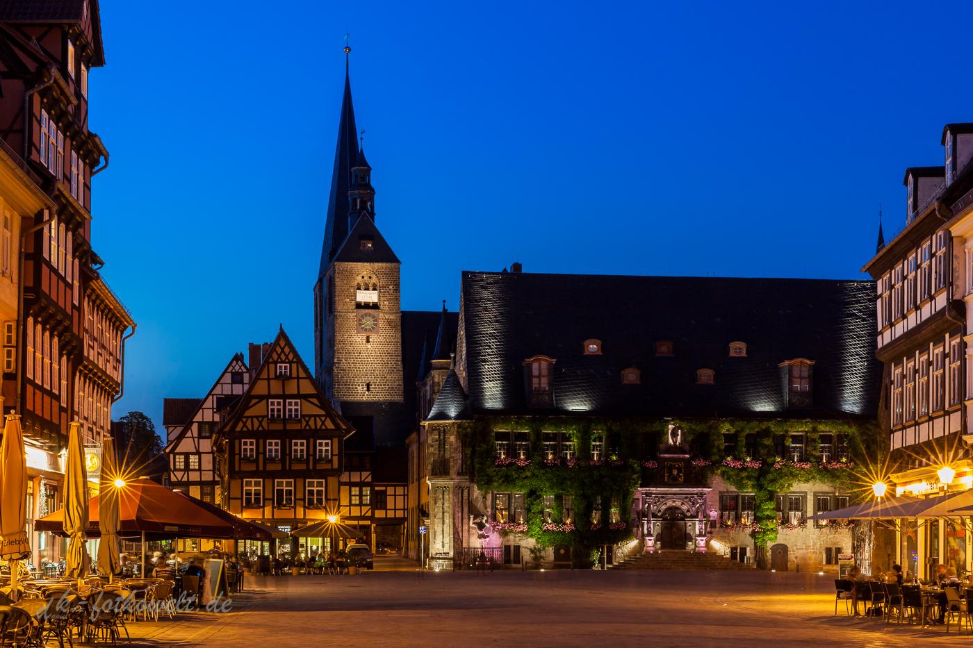 Abendstimmung in Quedlinburg