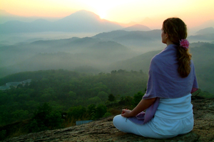 Workshop Meditation & Yoga - Thema  ZIELE IM 2021 Woher komme - wohin gehe ich