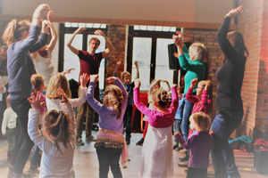 Eltern-Kind-Tanz ein Schnupperkurs