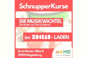 Schnupperkurs Musikwichtel 26.08.