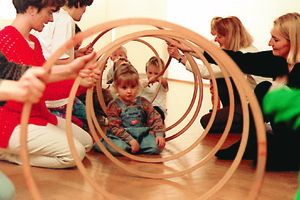 Rhythmik 2-3 Jährige, am Mo16.10h