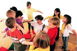 Rhythmik 5-7 J.  Do 16.00h Bewegte Welt