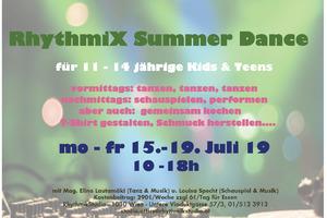 RhythmiX Summer Dance