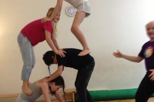 Rhythmik  5-7 J. Mo 15.10h Akrobatik