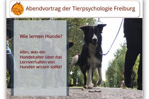 Abendvortrag - Wie lernen Hunde?