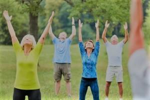 Bewegung hält fit