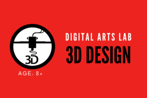 Digital Arts Workshop | 3D Block Printing | Ages 8+ (5+ with parent)