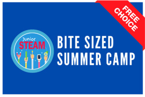 Junior STEAM Bite Sized  | Free choice of days