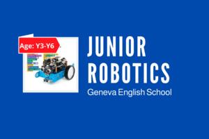 Junior Robotics (Y3-Y6)