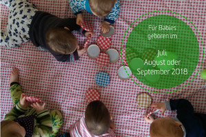 Babys in Bewegung geboren im Juli - Sept. 2018 Do 09.00 Uhr