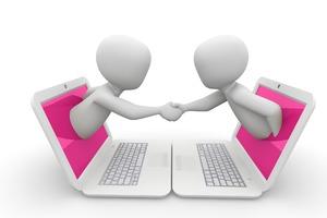 Online-Beratung von Schülerinnen