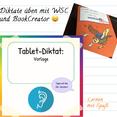 Diktate üben digital und analog mit WSC und BookCreator