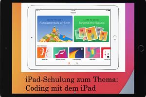 iPad-Schulung zum Thema Coding mit dem iPad