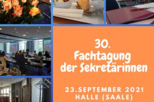 Fachtagung der Sekretärinnen in Halle, Saale 2021