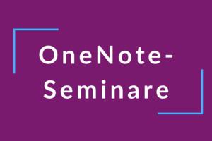 Video-Kurs OneNote im Sekretariat jetzt noch digitaler und ortunabhängiger Arbe