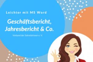 Geschäftsbericht, Jahresbericht und Co.