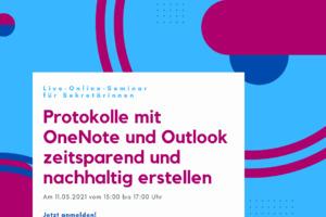 Protokolle mit OneNote und Office zeitsparend und nachhaltig erstellen