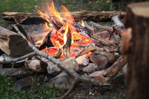 Herbst - Wildnis - Survivalcamp