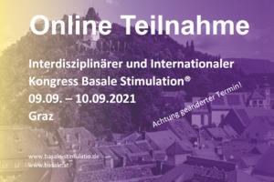 ONLINE Übertragung - Internationaler Kongress Basale Stimulation® 2021