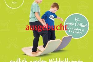Wobbelturnen® Kids (2-6) nachmittags