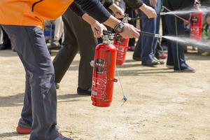 Aus- und Weiterbildung von Brandschutzhelfer