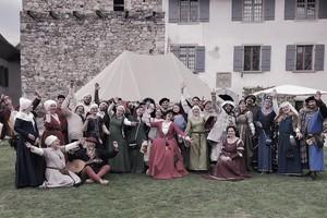 Mit Pfeil und Bogen das Mittelalter erleben