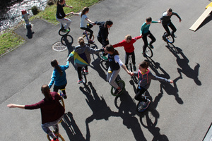 Einrad fahren für Fortgeschrittene