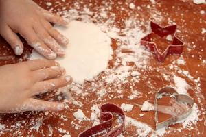Erstes gestalten mit Salzteig
