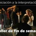 Taller de teatro - Iniciación a la interpretación -  auf Spanisch